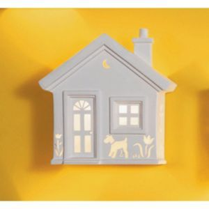 """13"""" Home Sweet Home Ceramic Wall Sconce"""