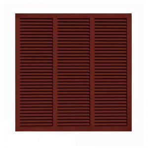 60in. Wide - Architectural Fiberglass Bahama Shutter w/ Hardware Kit (Non Storm Rated)