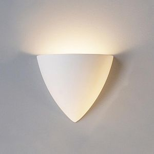 """8.25""""  Contemporary Pointed Bowl Sconce"""