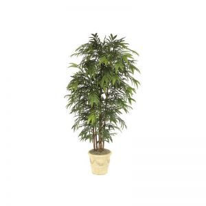 8' Bamboo Palm Tree - Green|Indoor