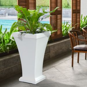 Bloomington 40 inch Tall Patio Planters - 3 Colors