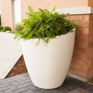 Montclaire 30 inch Round Planter - 5 Colors
