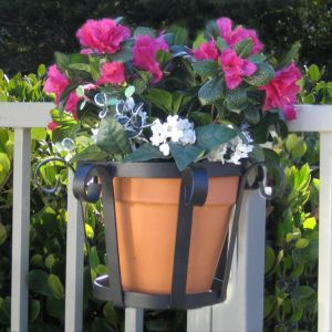 8in. Venetian Decora Flower Pot Holder