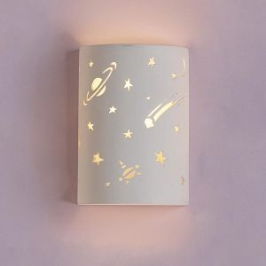 "9"" Milky Way Children's Cylinder Wall Sconce"
