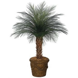 4' Artificial Areca Palm Tree, Outdoor Rated