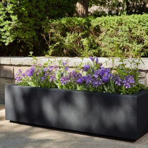 Regatta Trough Planter with Toe Kick- Choose from 8 Colors