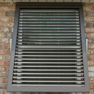 Aluminum Bahama Shutters 48in.W (Hurricane Rated)