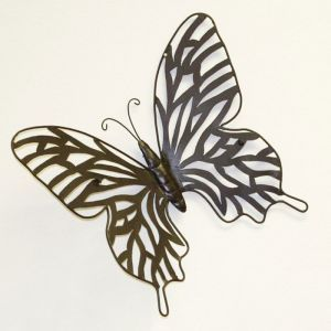 Antiqued Butterfly Wall Decor