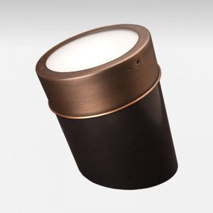 Apollo Low Voltage In Ground Well Light - Weathered Brass