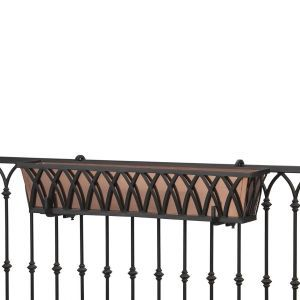 Arch Decora Railing Planter- Choose 7 lengths and Rail Type