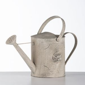 Aged Metal Lion Watering Can