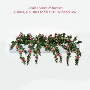 DIY Artificial Azalea Vines & Bushes for Window Boxes