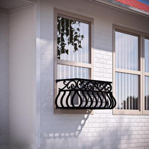 Bellisimo Iron Air Conditioning Cover / Window Guard