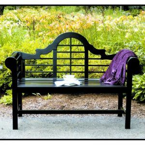 Black Orchid Bench