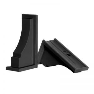 Black Prestige / Promenade Window Box Brackets - (Pair)