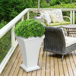 Bloomington Tall Patio Planters - 3 Colors