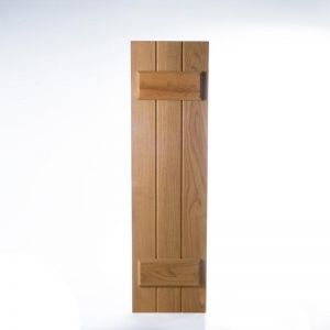 "Cedar Board & Batten- 12"" Wide with 3 Boards (Pair)"