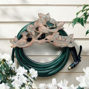 Chickadee Garden Hose Holder