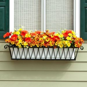 Del Mar Decora Window Boxes with Plastic Liners