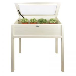 Tall Potting Table - White