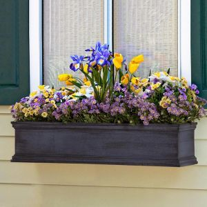 Distressed Laguna Fiberglass Window Boxes