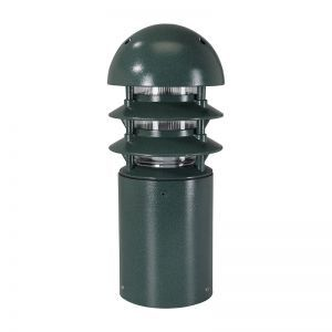 Dome Hat Line Voltage Bollard - Small