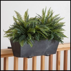 Eloquence Window Box Planter - Choose from 3 sizes and 4 colors