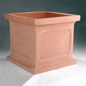 "Estancia 24"" Square Planter -Choose from 5 Colors"