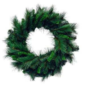 "24"" Artificial Pine Wreath"