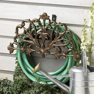 Filigree Garden Hose Holder