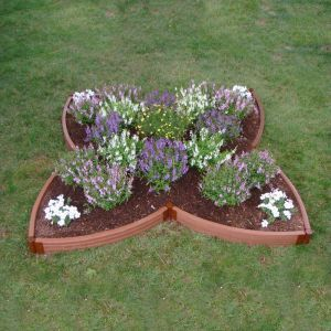 Four Leaf Clover Raised Garden