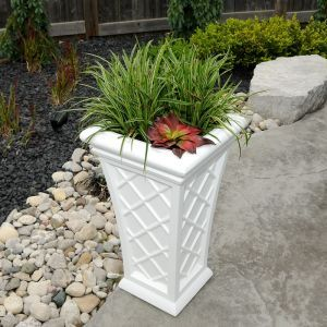 28 inch Tall Regent Planter - Choose from 3 Colors
