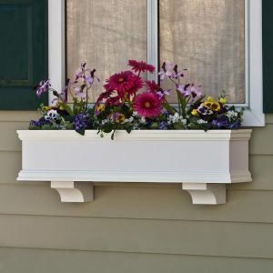 Laguna Premier Direct Mount Flower Box- Weekend Sale!  Special Pricing with 2 FREE Faux Brackets!