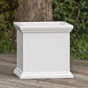 Laguna Square Fiberglass Planter - Choose from 3 Colors