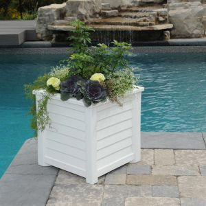 Lakeview Square Patio Planters - 2 Sizes 3 Colors