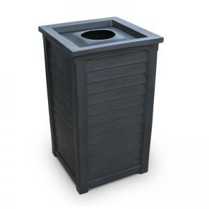 Lakeview Tall Waste Bin