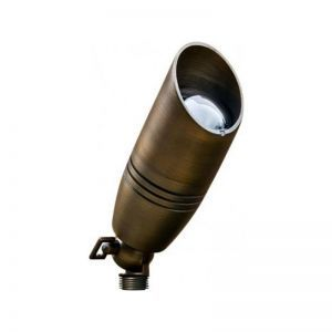 Large LED Bullet Light with Hood - 2 Finish Options