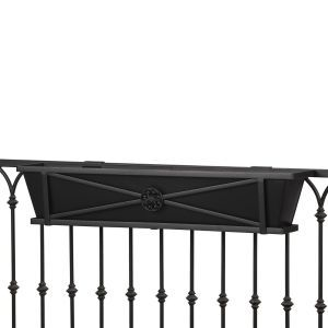 Medallion Decora Railing Planter- Choose 7 lengths and Rail Type