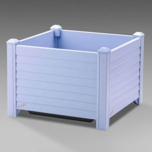 Niguel 18in. Square Planter in Periwinkle