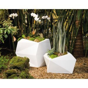 Escher Geometric Planter - Choose from 6 Colors and 2 sizes