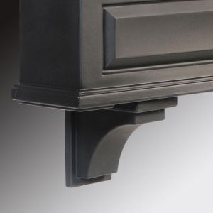 Presidential Decorative Brackets - Black (2pk)