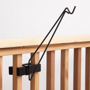 Railing Hook for Hanging Baskets and Garden Decor