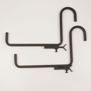 "Railing Shelf Bracket- 9 1/2"" Shelf - (Pair)"