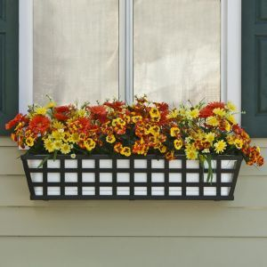 Santiago Decora Window Boxes w/ Plastic Vinyl Liners