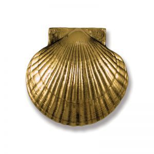 Sea Scallop Door Knocker