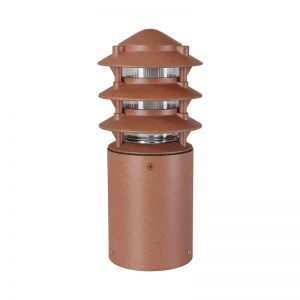 Three Tier Line Voltage Bollard - Small