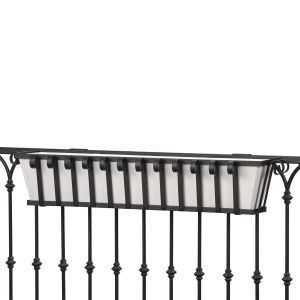 Venetian Decora Railing Planter- Choose 7 lengths and Rail Type