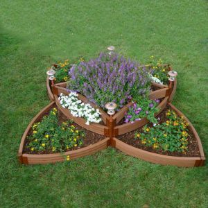 Versailles Sunburst- multi level Raised Garden Bed