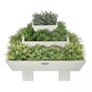Pyramid Planter with Three Tiers