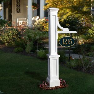 Wellington Address Signs - White